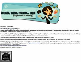 workwifemomlife.com screenshot
