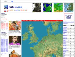 world.meteox.com screenshot