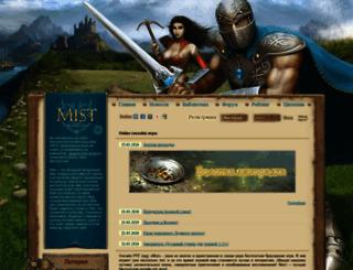 world.mist-game.ru screenshot