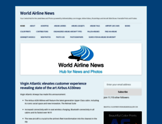 worldairlinenews.com screenshot