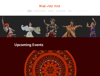 worldartswest.org screenshot