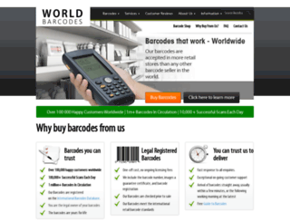 worldbarcodes.com screenshot