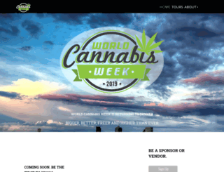 worldcannabisweek.com screenshot