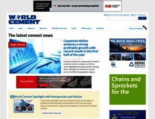 worldcement.com screenshot