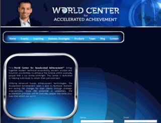 worldcenterforacceleratedachievement.com screenshot
