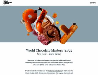 worldchocolatemasters.com screenshot