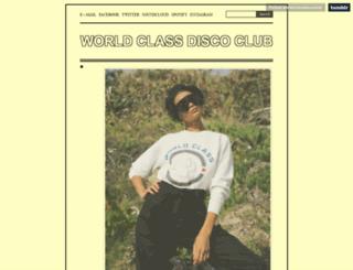 worldclassdiscoclub.tumblr.com screenshot