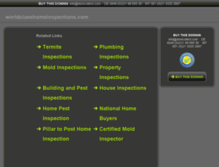 worldclasshomeinspections.com screenshot