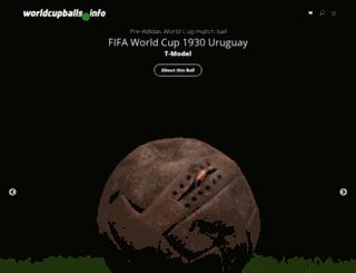 worldcupballs.info screenshot