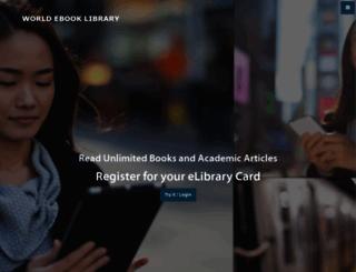 worldebooklibrary.com screenshot