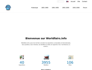worldfairs.info screenshot