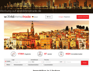 worldimmotrade.de screenshot