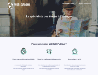 worldiploma.com screenshot