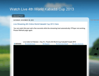worldkabaddicup2013.blogspot.in screenshot