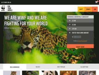 worldneedslove.wwf.org.uk screenshot