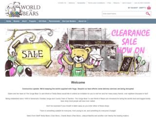 worldofbears.com screenshot