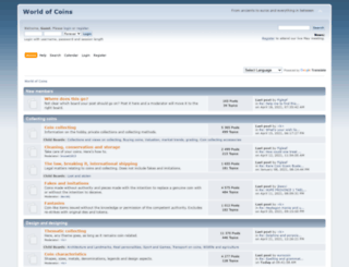 worldofcoins.eu screenshot