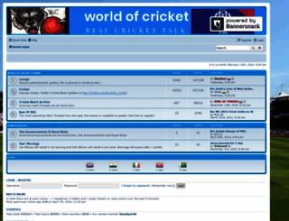 worldofcricket.net screenshot