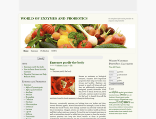 worldofenzymes.info screenshot