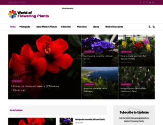 worldoffloweringplants.com screenshot