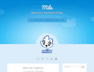 worldofmila2.wordpress.com screenshot