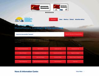 worldofmotorhomes.com screenshot