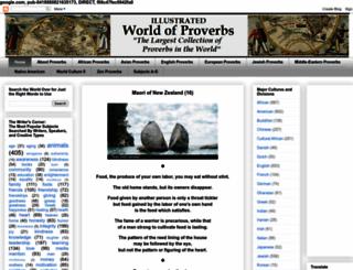 worldofproverbs.com screenshot