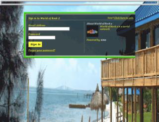 worldofrock2.ning.com screenshot