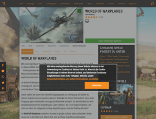 worldofwarplanes.browsergames.de screenshot