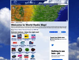 worldradiomap.com screenshot