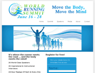 worldrunningsummit.com screenshot