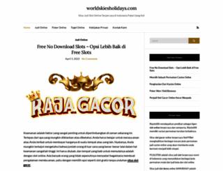 worldskiesholidays.com screenshot