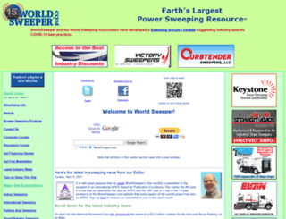 worldsweeper.com screenshot