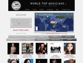 worldtopmusicians.com screenshot