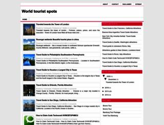 worldtouristspots.blogspot.com screenshot