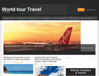 worldtourtravel.net screenshot