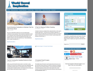 worldtravelinspiration.com screenshot