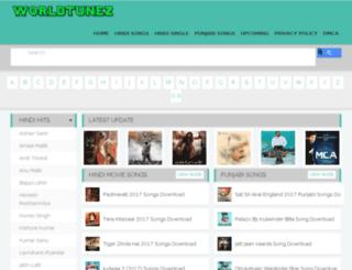 worldtunez.com screenshot