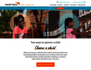 worldvision.org screenshot