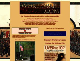 worldwar1.com screenshot