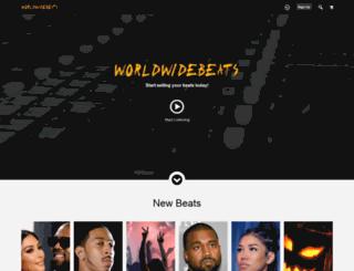 worldwidebeats.net screenshot
