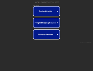 worldwidecapital.net screenshot