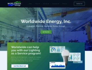 worldwideenergy.com screenshot
