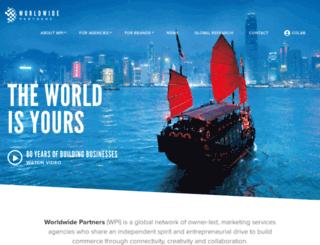 worldwidepartners.com screenshot