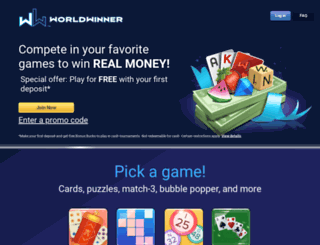 worldwinner.com screenshot