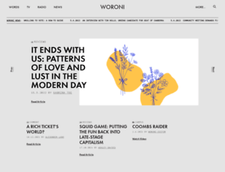 woroni.com.au screenshot
