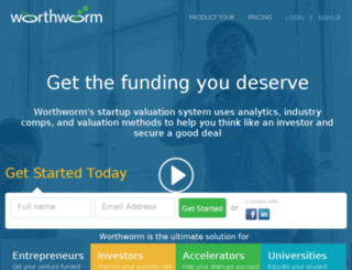 worthworm.com screenshot