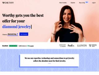 worthy.com screenshot
