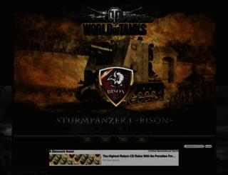 wot-bison.aktiv-forum.com screenshot