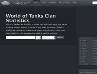 wot-stats.appspot.com screenshot